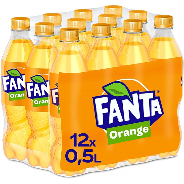 Bax 12 Buc Fanta Orange 500ML