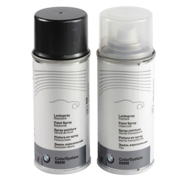 Set Spray Vopsea + Lac Oe Bmw Black Sapphire Metallic 475 51910026328