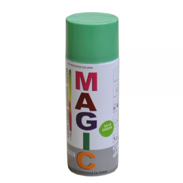 Spray Vopsea Magic Verde 6018 400ML
