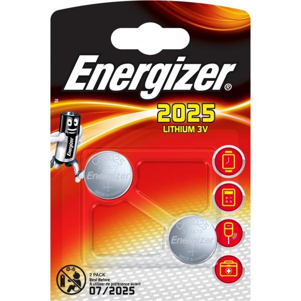 Set X 2 Baterii Special Energizer CR2025 30502191