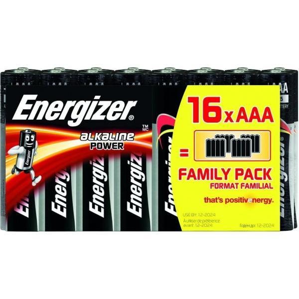 Set 16 Baterii Energizer Alcaline Power R03/AAA 30502781