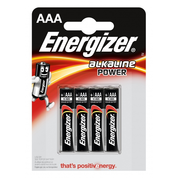 Set 4 Baterii Energizer Alcaline Power R03/AAA 32007726