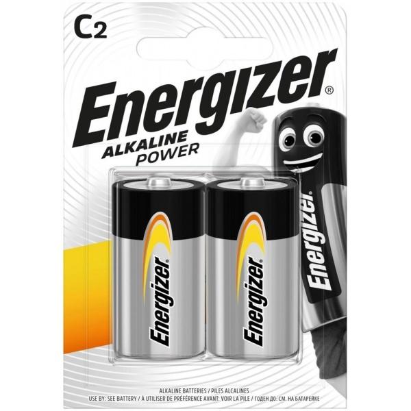 Set 2 Baterii Energizer Alcaline Power R14/C 32009873