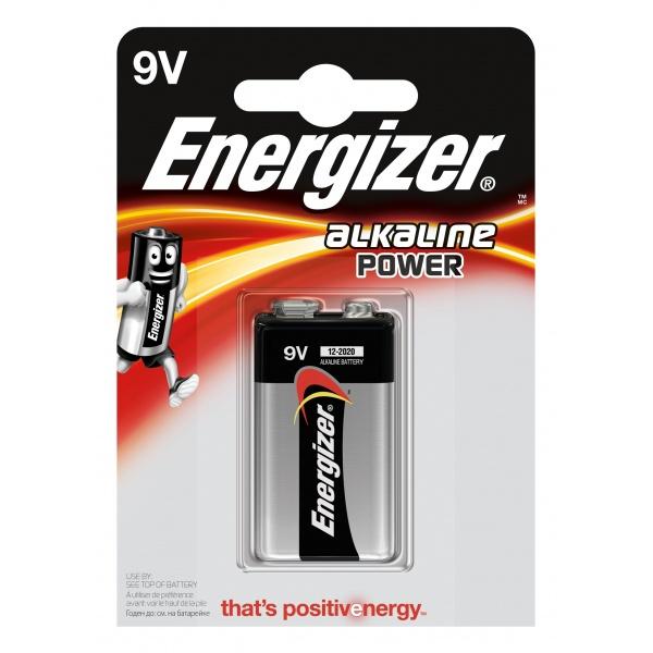 Baterie Energizer Alcaline Power 9V 32009875