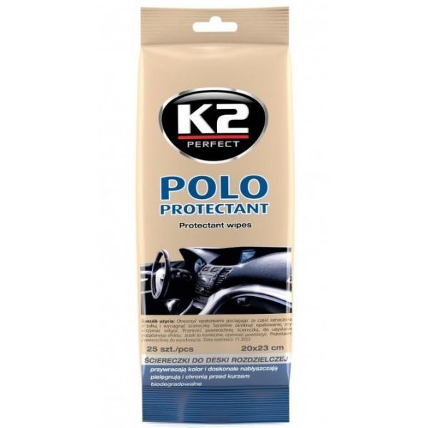 K2 Servetele Umede Bord Polo Protectant 25 Buc K420