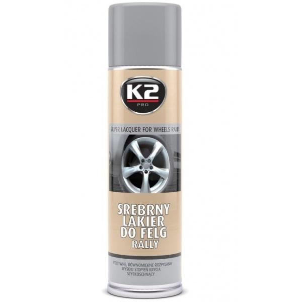 K2 Spray Vopsea Jante Argintiu 500ML L332