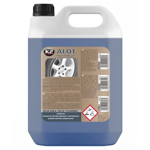 K2 Solutie Curatat Jante Alot 5L M121
