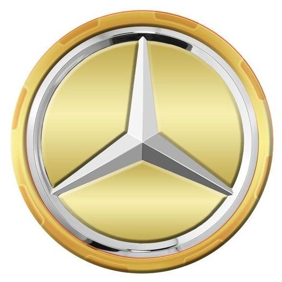 Capac Janta Oe Mercedes-Benz Amg Gold A00040009001190