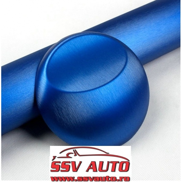 Folie Auto Aluminiu Polisat Albastru 152CM