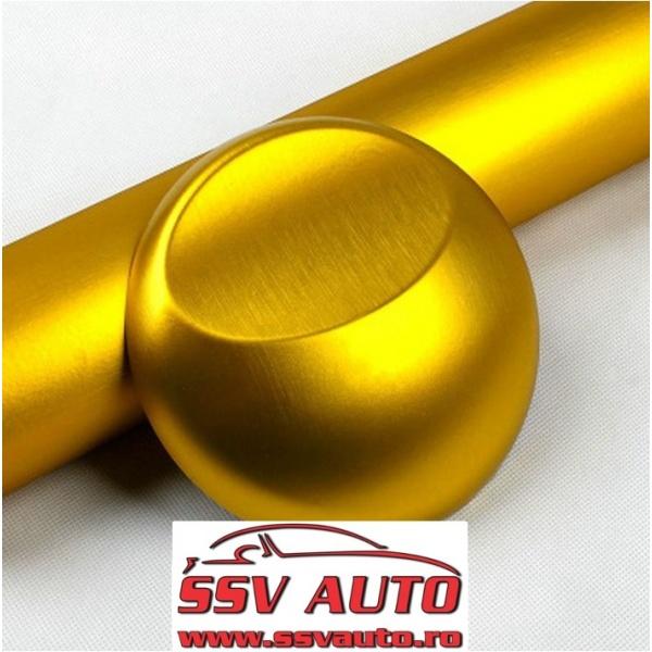 Folie Auto Aluminiu Polisat Gold 152CM