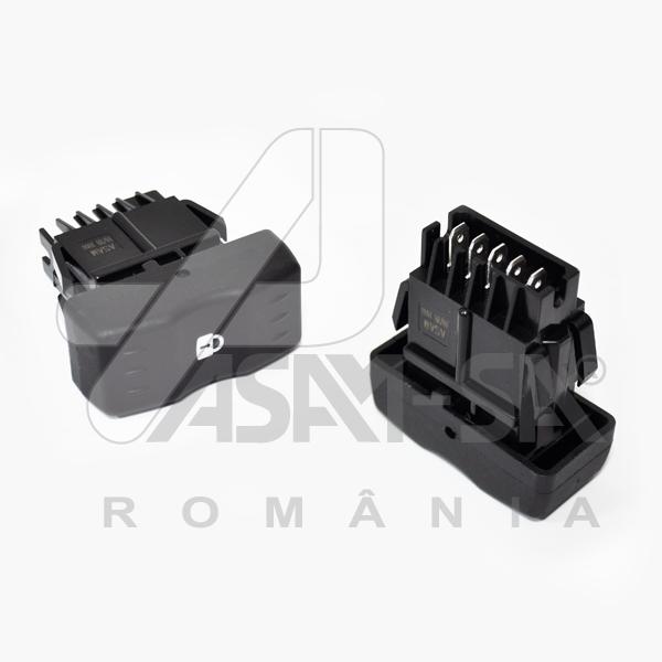 Buton blocare / deblocare usi compatibil Dacia Logan 1 2004-2012 Asam 30991
