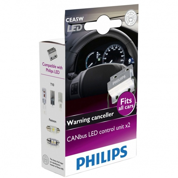 Anulator Eroare Led Philips Canbus Set 2 Buc 12956X2