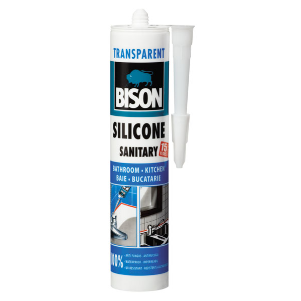 Bison Silicon Transparent 280ML