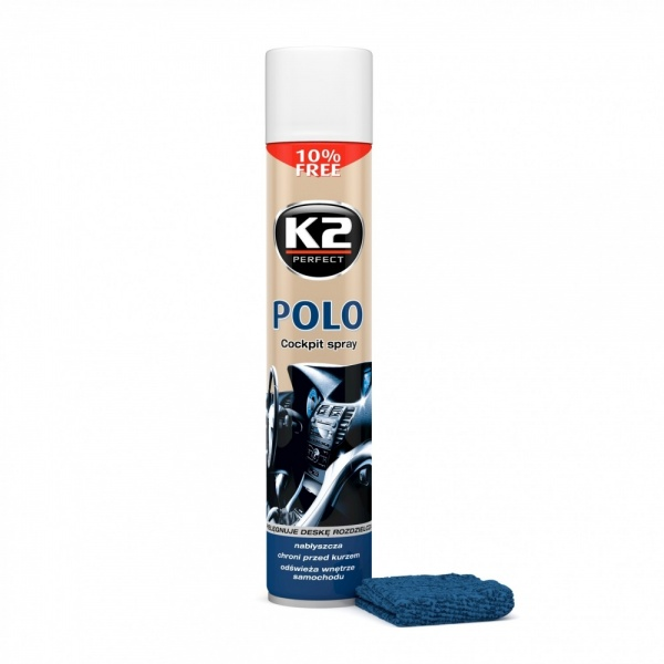 K2 Spray Silicon Polo Cockpit Fresh + Laveta 750ML