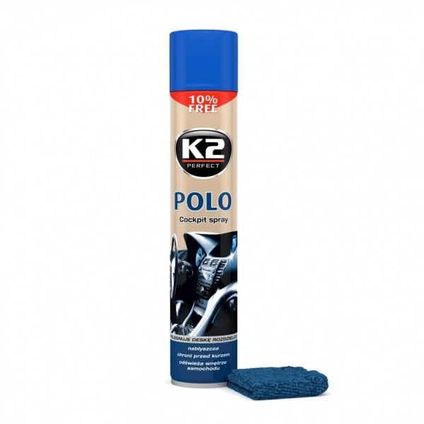 K2 Spray Silicon Polo Cockpit Lavanda + Laveta 750ML