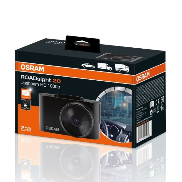 Osram Camera Video Auto Dash Cam Full HD ROADsight 20 ORSDC20