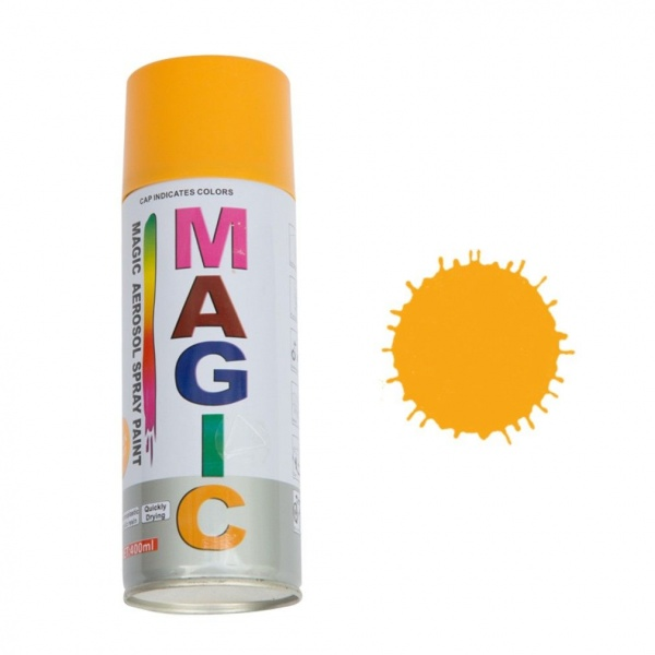 Spray Vopsea Magic Galben Sport 400ML