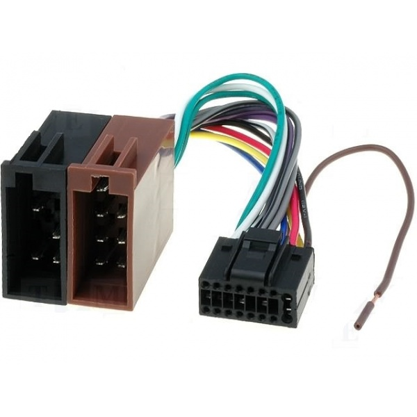 Conector Auto Player 4CarMedia ISO KENWOOD16P
