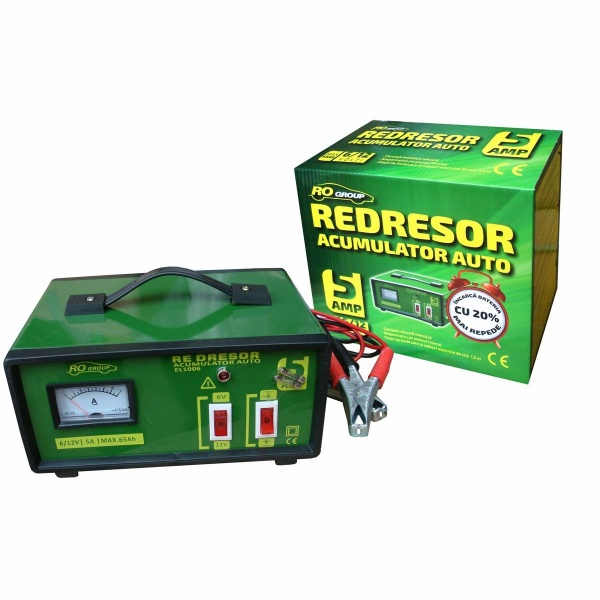 Redresor Baterie Ro Group 5A 65Ah 6/12V EL1006