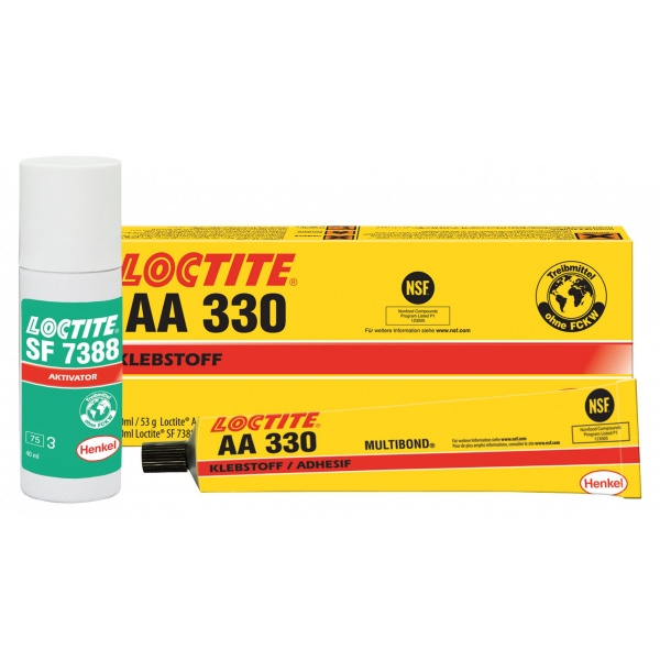 Henkel Loctite Kit Adeziv Lipire Structurala AA 330 / SF 7388 50/40ML HE135288
