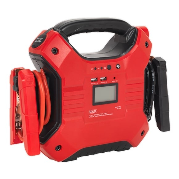 Robot Pornire Sealey 1200/450A 12/24V Jump Starter Power Pack Lithium-ion Phosphate (LiFePo4) SEA SL32S