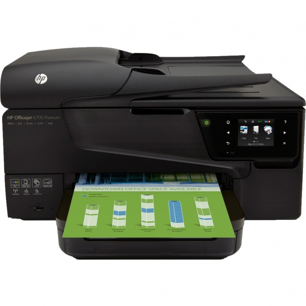 Multifunctional HP Officejet 6700 Premium E-All-in-One A4 Cap Printare Defect CN583A