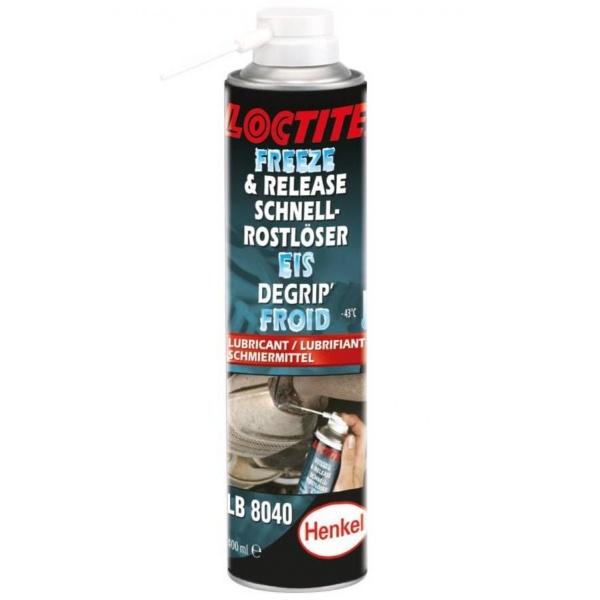 Henkel Loctite Spray Degripant Soc Termic + Ungere LB 8040 400ML HE760225