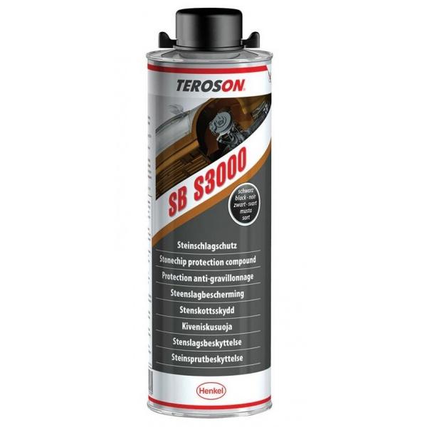 Henkel Teroson Antifon Auto Structurat Cu PVC Negru SB S3000 1L HE767199