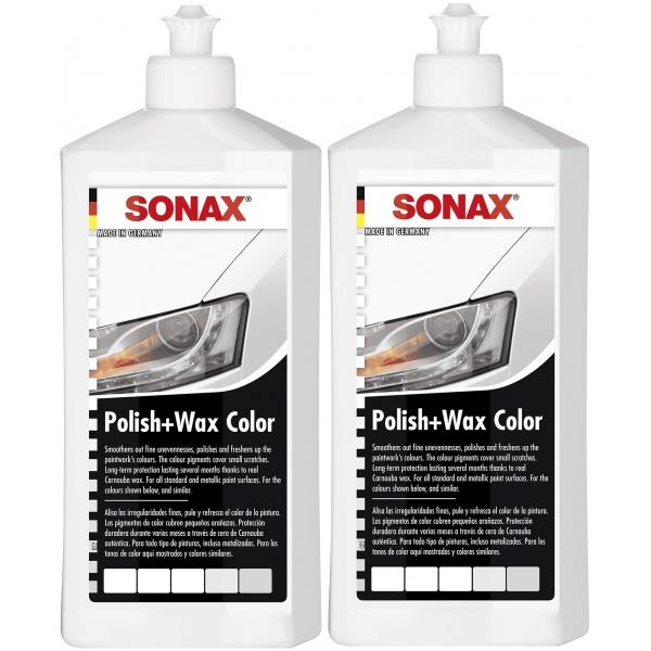 Pachet 2 Buc Sonax Polish & Ceara Alb 296000 500ML