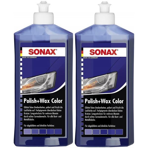 Pachet 2 Buc Sonax Polish & Ceara Albastru 296200 500ML