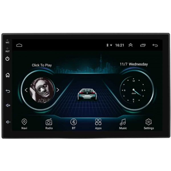 MP5 Auto 2DIN Touchscreen Android/WiFi/BT/GPS 9inch Alien 9901