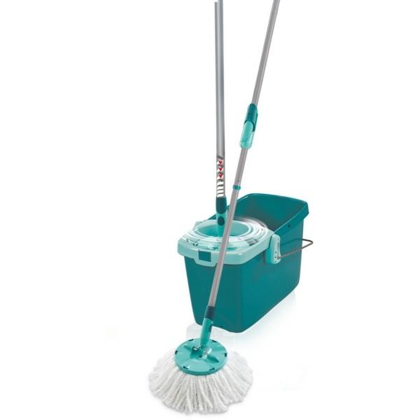 Leifheit Set Curatenie Mop Rotativ Rotund Clean Twist System 31511914