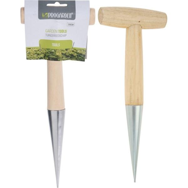 ProGarden Unealta Pentru Plantat Tip Dibber 28.5x11 cm 34508443