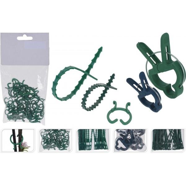 ProGarden Set Accesorii De Gradina 5 Tipuri Piese Polipropilena Verde 34511678