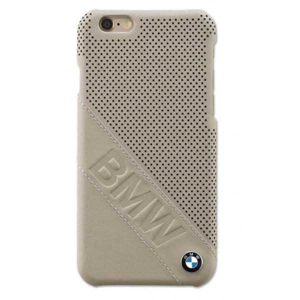 Husa Telefon iPhone 6 Oe Bmw Piele Bej 80212413764