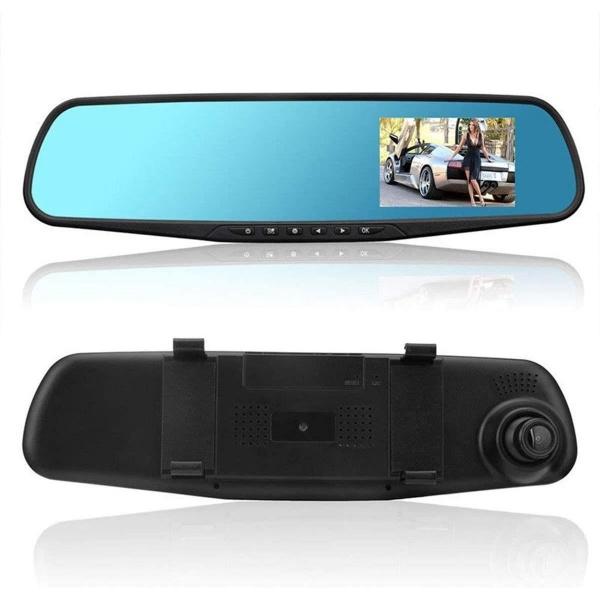 Camera Auto Tip Oglinda Retrovizoare Inregistrare Dubla Fata/ Spate Nightvision 4.33 Siegbert 999ET0060