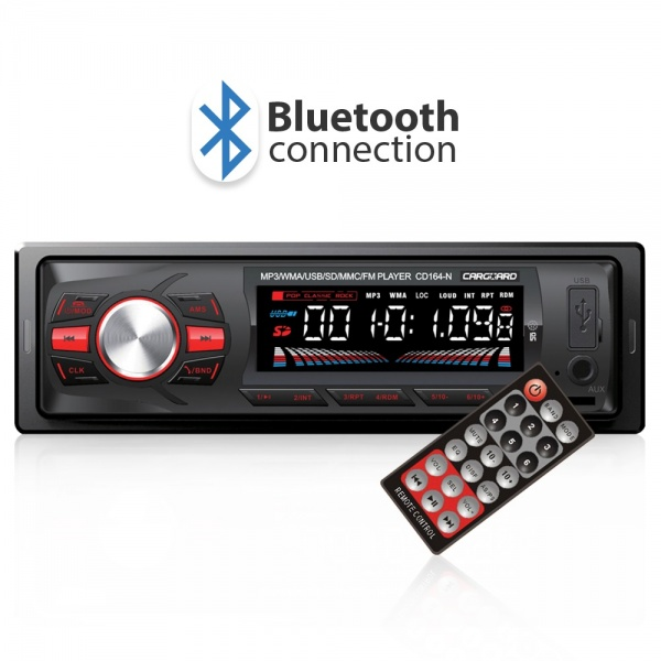 Radio MP3 Cu Bluetooth Carguard CD164-R