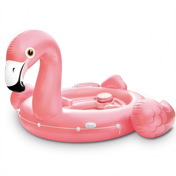 Intex Saltea De Piscină Flamingo Party Island 57267EU 91544