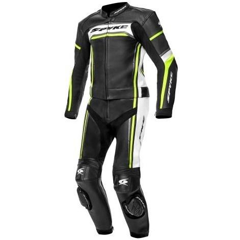 Costum Moto Spyke Imola Sport Negru / Alb / Galben Marimea 54 110262/10107/54