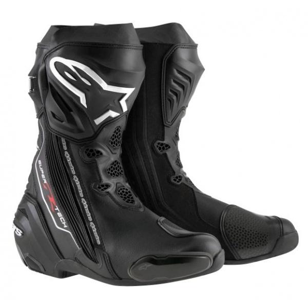 Cizme Piele Moto Alpinestars Supertech R Negru Marimea 48 2220015/10/48
