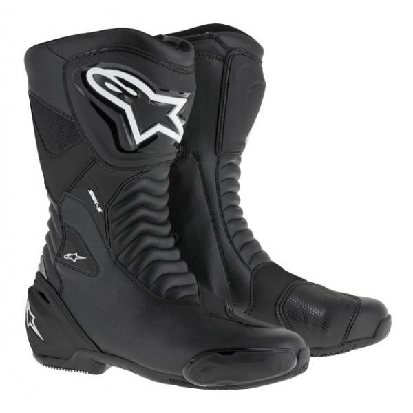 Cizme Piele Moto Alpinestars Smx S Negru Marimea 37 2223517/1100/37