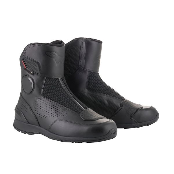 Cizme Piele Moto Alpinestars Portland Gore-Tex Negru Marimea 45 2332518/10/45