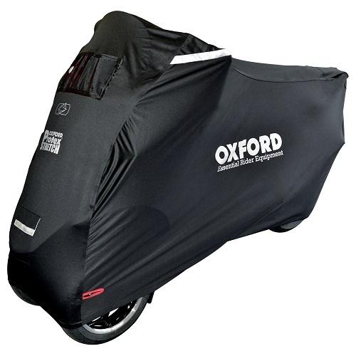 Husa Moto Exterior Oxford Protex Stretch Negru CV164