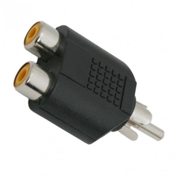 Adaptoare Y Rca 2 x Soclu Rca Fisa Rca 05099