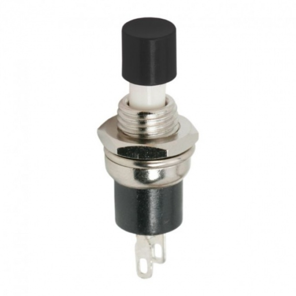 Buton 1 Circuit 1,5A-250V OFF-ON Negru 09005FK