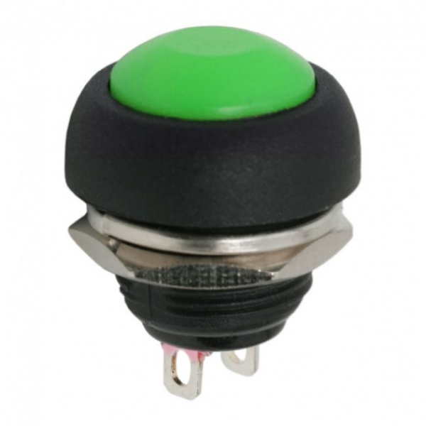 Buton 1 Circuit 1A-250V OFF-ON Verde 09044ZO