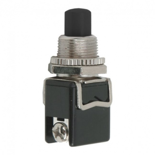 Buton 1 Circuit 4A-250VOFF-ON Negru 09063FK