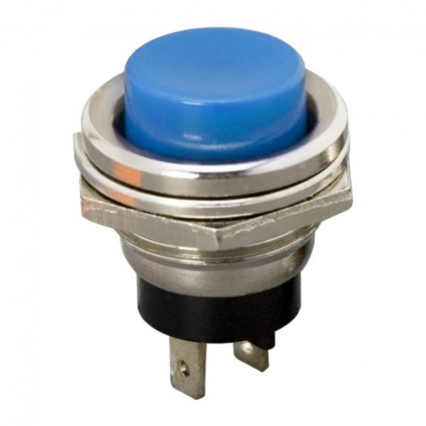 Buton 1 Circuit 2A-250V OFF-ON Albastru 09065KE
