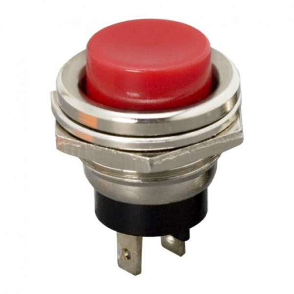 Buton 1 Circuit 2A-250V OFF-ON Rosu 09065PI