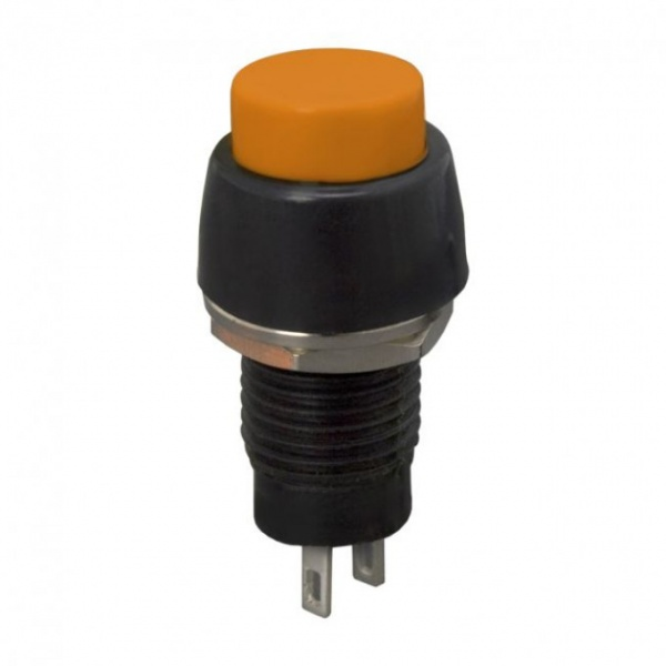 Buton 1 Circuit 2A-250V OFF-ON Orange 09067NA